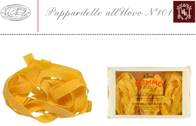 PAPPARDELLE UOVO RUMMO  – 250gr-0
