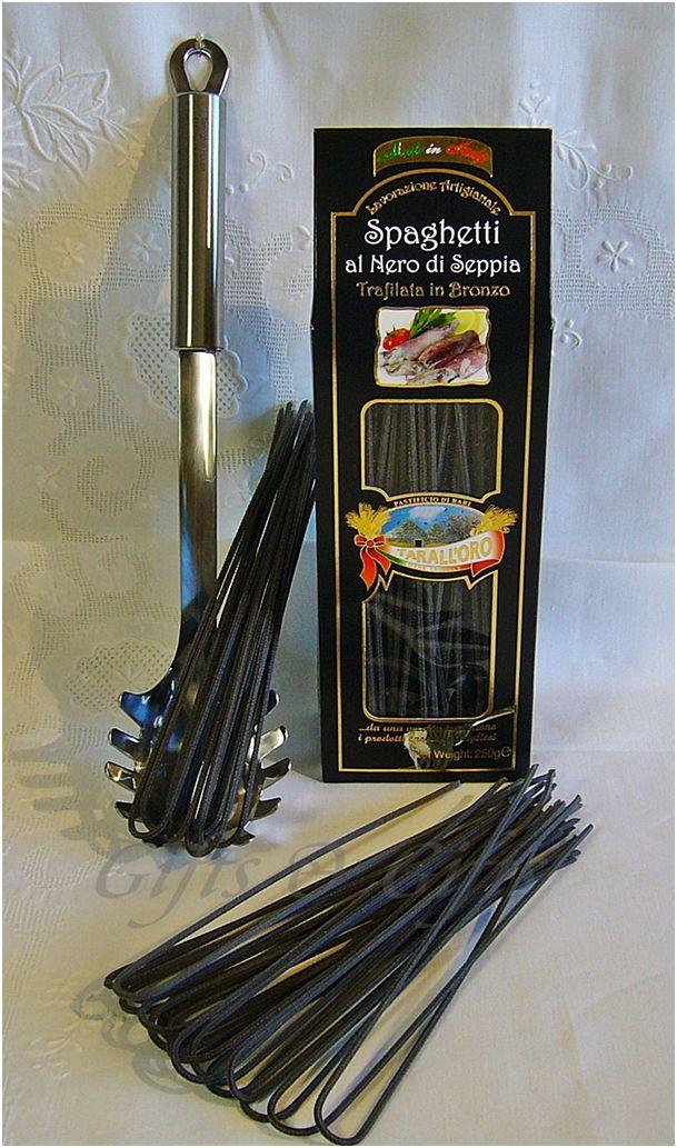 Spaghetti nero sepia TARALLORO-0