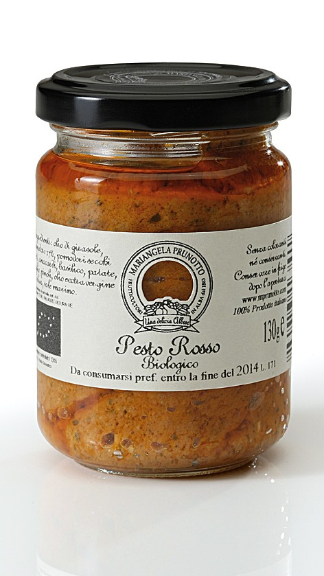 Pesto Rosso Biologico-0
