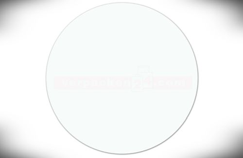 Etichete SKL, rotunde – punct adeziv transparent – 20 mm pentru împachetarea ușoară a cadourilor / 500 buc-0