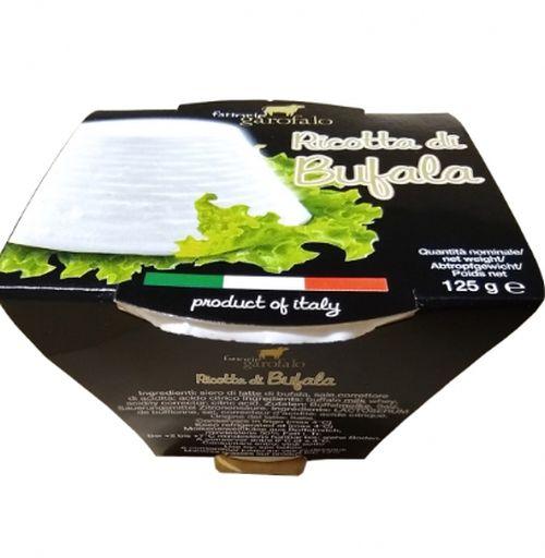 Ricotta din lapte de bivolita (di Bufala) Garofalo 125 g-0